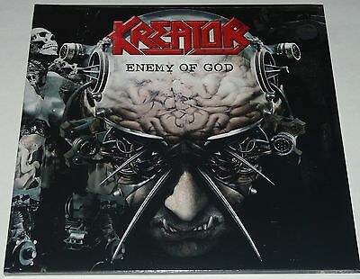 Kreator Enemy Of God LP 2017 Double Gatefold Limited * RED* Vinyl + CD NEW