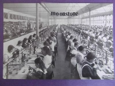 OLD POSTCARD OF WATCHMAKING AT ROTHERHAM'S COVENTRY  c.1910   RPT..