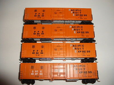 N Scale Pacific Fruit Express Cars