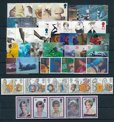 SG2015-30/34-38/41-2068 1998 COMMEMORATIVES YEAR SET ~10 Sets Unmounted Mint. GB