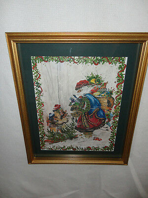 Home Interiors ''Santa with Children '' Picture   Gorgeous  SALE  15.5''x 18.5''