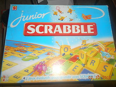Scrabble Junior **mattel**