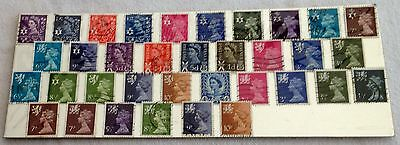 Collection Of Gb Regional Stamps - Scotland,wales & Ni