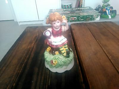 Vintage Music box wind up Lara's Theme Somewhere my Love 1960's Japan Working