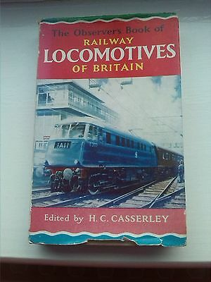 The Observer's Book of Railway Locomotives of Britain 1964