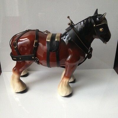 Melba Large Shire Horse With Tackle