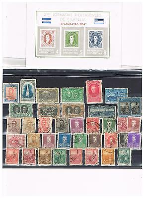 ARGENTINA  UNMOUNTED MINT great item + MANY EARLY