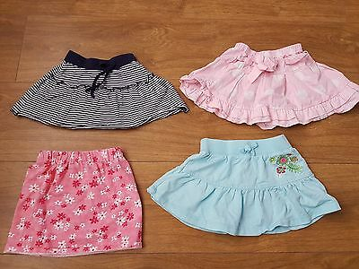 Cherokee / early days baby girls 4x skirts 6-9 months bundle
