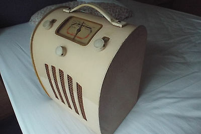 "Ever Ready Model ""c"" Valved Portable Radio - 1947"
