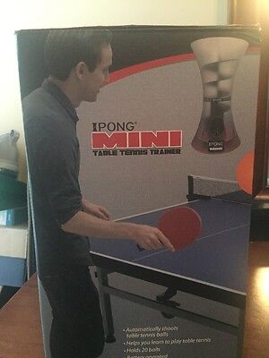 NEW iPong Mini Table Tennis Trainer Robot BRAND NEW
