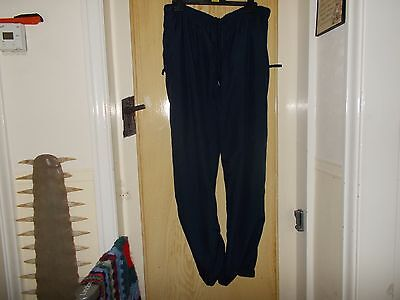 Mens Navy Golf Trousers size XL