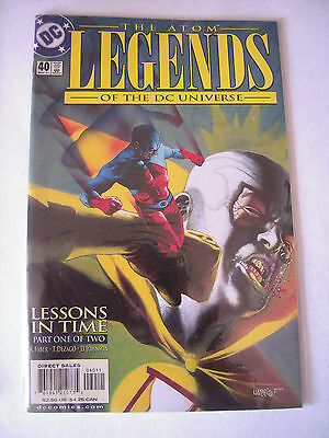 The Atom  Legends Of The Dc Universe 40     Dc  Comics 2001   T Be