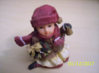 Girl with Gift Ornament