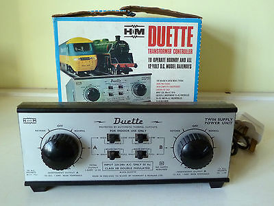 Hammant & Morgan Duette transformer controller: working, excellent++ boxed cond.