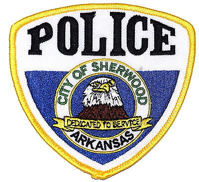 SHERWOOD ARKANSAS AR Police Sheriff Patch CITY SEAL EAGLE ~