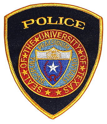 UNIVERSITY OF TEXAS - LONGHORNS - AUSTIN TX Police Sheriff Patch CAMPUS POLICE ~