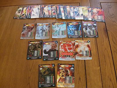 Bundle Of 71 Dr Who Battle In Time Ultimate Monster Cards