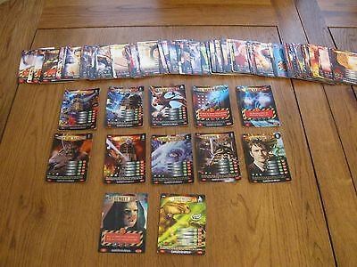 Bundle Of 114 Dr Who Battle In Time Cards Exterminator Set