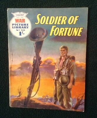 War Picture Library No 30, Soldier Of Fortune, Printed 1959