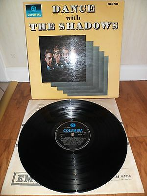 The Shadows Dance With The Shadows Lp Columbia Mono 33Sx 1619