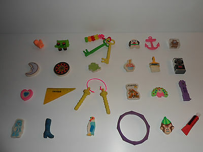 Vintage Retro Rare Novelty Erasers Rubbers Gommes 347 Amazing Collection