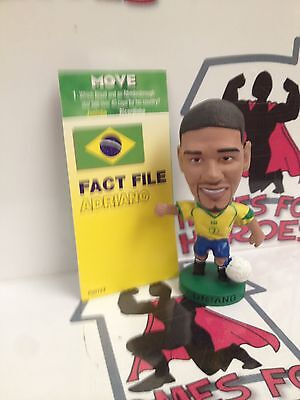 Corinthian Prostar Brazil Adriano Pr070 Black Boots Loose With Card