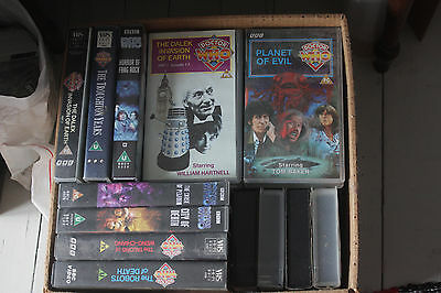 18 Dr Doctor Who VHS Videos
