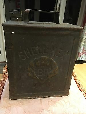Vintage Shell Petrol Can
