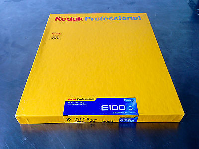 Kodak EKTACHROME E100g - Color slide film 8 x 10 ISO 100 10 sheets 1 box