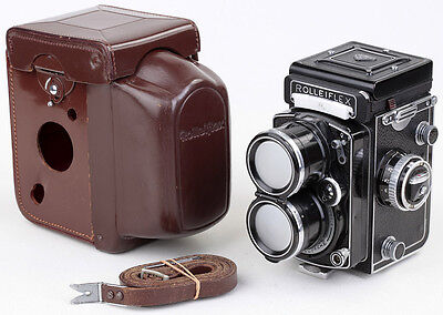 Tele-Rolleiflex with Sonnar 4/135 Carl Zeiss Germany COMPLETE & TOP & CLEAN !!!