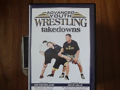 Youth Wresting instructional DVD, Advanced Takedowns, McFarland and Dave Mills