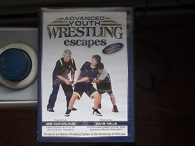 Youth Wresting instructional DVD, Advanced Escapes, McFarland and Dave Mills