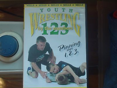 Youth Wresting instructional DVD, By the Numbers Pinning, Dave Mills