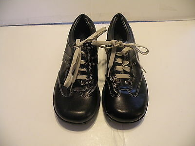 """Predictions Women's Black Lace Up Casual """"Career"""" Shoes Size 5.5 Wide"""