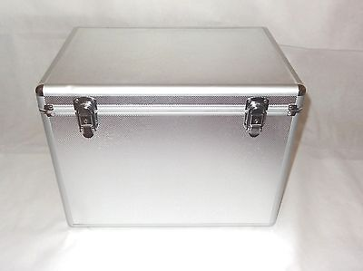 Medium Aluminium Storage Chest / Transportation Trunk / Flight Case with Keys