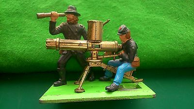 BRITAINS Deetail ACW  - Gatling Gun - (with Union Infantry Figures)