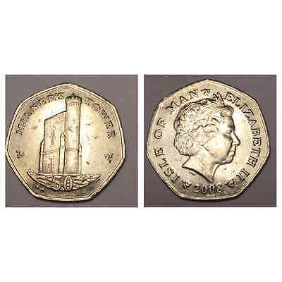 Milners Tower 50p Coin Hunt Isle Of Man 2008