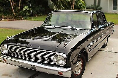 1963 Ford Falcon  Futura - New i6 200 Engine with 3.5k miles - Black & Red Trim