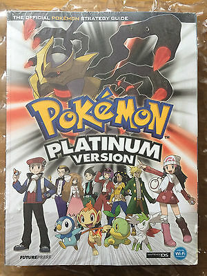 Brand New Factory Sealed Pokemon Platinum Version Strategy Guide