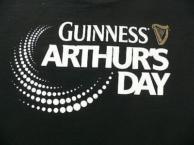 2 T-SHIRTs CELEBRATING GUINESS'S ARTHURS DAY  & THE 250th  ANNIVERSARY 2009