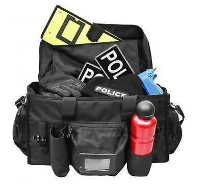 Black Basic Patrol Bag for Police Officers, PCSO, Security, Special Constables