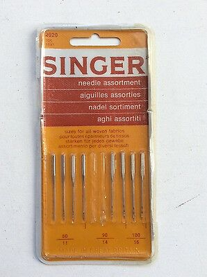 Singer Sewing Machine Needle Assortment_8 out of 10