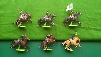 BRITAINS Deetail ACW Union Cavalry from 1971. VGC.