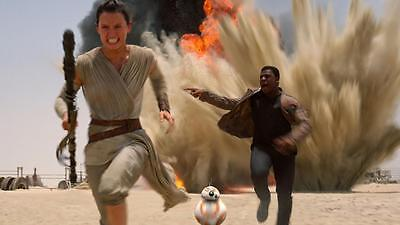 Star Wars The Force Awakens Daisy Ridley Rey collectibles picture  8x10 photo 2