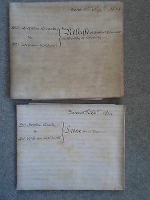 Lease & Release City Of Coventry 1814