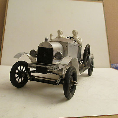 Handmade Ford T Roadster Hot Rod 1/10 Rc Vintage Metal Scale Model Collector