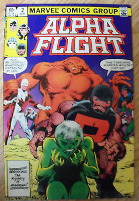 Alpha Flight #2 (1983) 1st Master Of The World VF+ Combined Postage Available