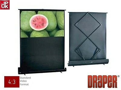 Draper Warrior Portable Projection Screen - used 2 or 3 times only RRP £500