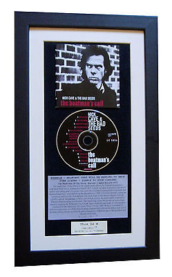 NICK CAVE Boatman's Call CLASSIC CD Album TOP QUALITY FRAMED+EXPRESS GLOBAL SHIP