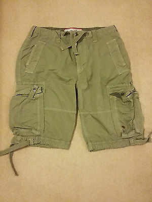 Mens Blue Inc Casual Khaki Shorts Size 32 *BNWOT*